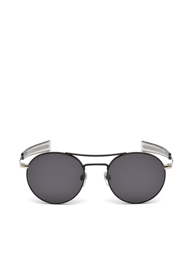 Diesel - DL0220, Black - Sunglasses - Image 1