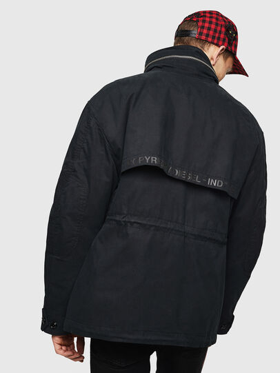 Diesel - J-TOUCHIN, Black - Jackets - Image 2