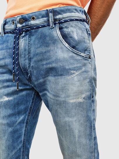 Diesel - Krooley JoggJeans 0099Q, Medium blue - Jeans - Image 3