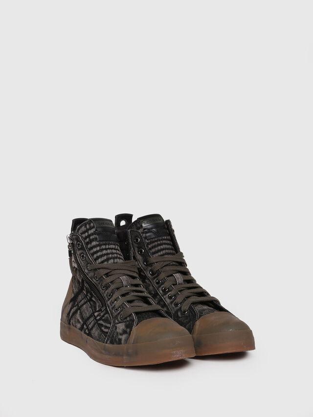 Diesel - D-VELOWS MID GUM, Black Jeans - Sneakers - Image 3