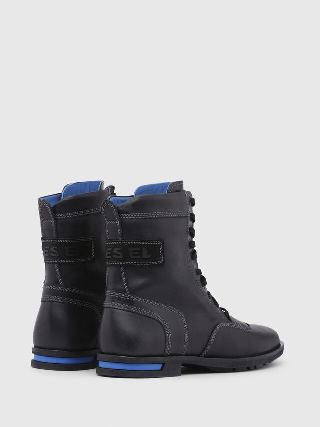 Diesel - D-OGTAG OXB LACE W, Opaque Black - Ankle Boots - Image 3
