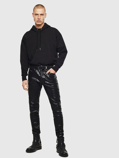 Diesel - D-Istort 0094S, Black/Dark grey - Jeans - Image 6