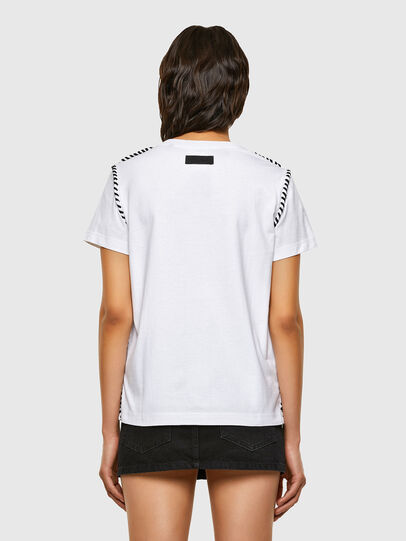 Diesel - T-TWISTY, White - T-Shirts - Image 2