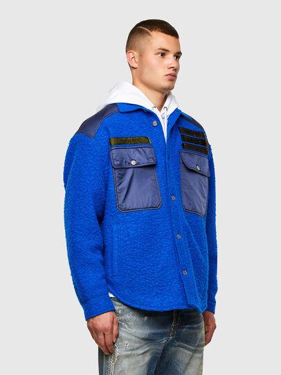 Diesel - J-DRAKE, Blue - Jackets - Image 6