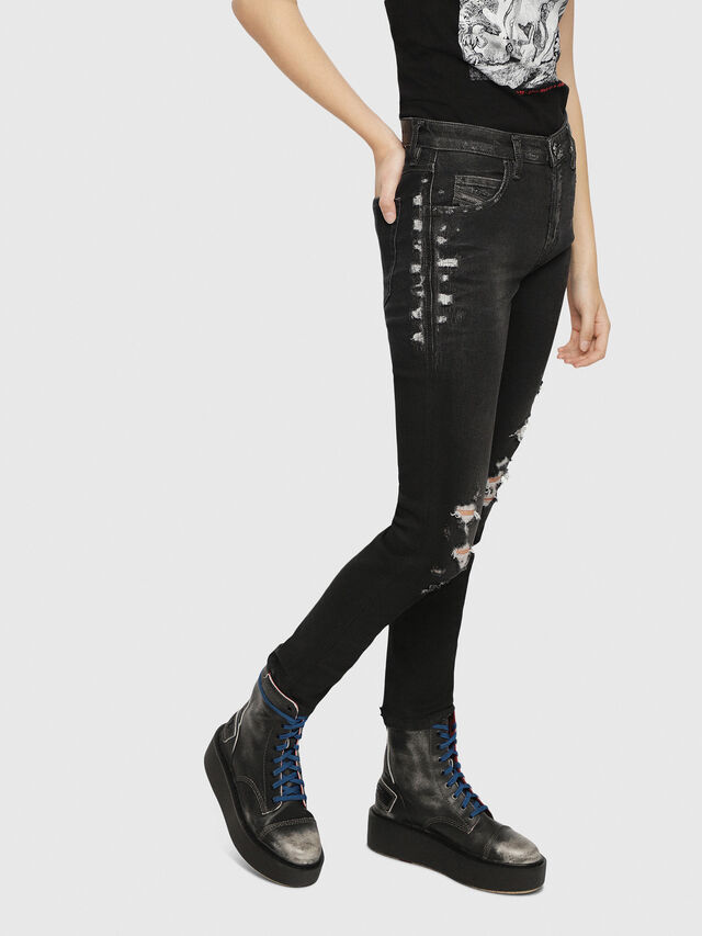 Diesel - Babhila 084YT, Black/Dark grey - Jeans - Image 3