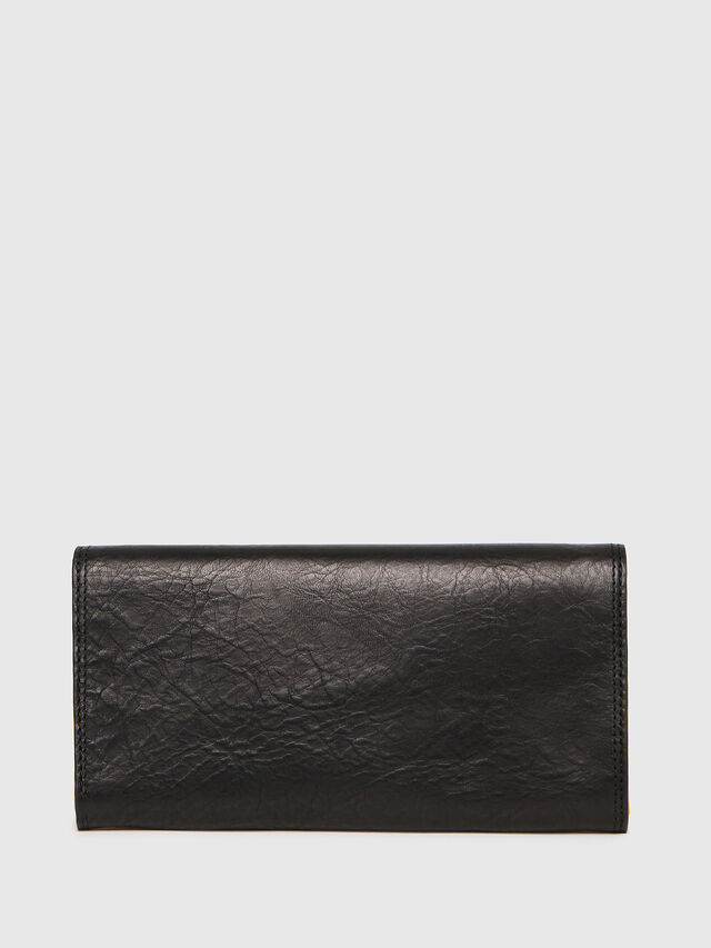 Diesel - 24 A DAY, Black/Yellow - Continental Wallets - Image 2
