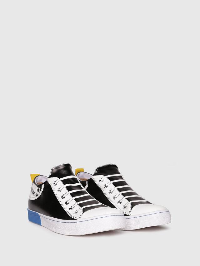 Diesel - S-DIESEL IMAGINEE LOW, Black/White - Sneakers - Image 2