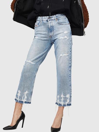 Diesel - Aryel 0078L, Light Blue - Jeans - Image 1