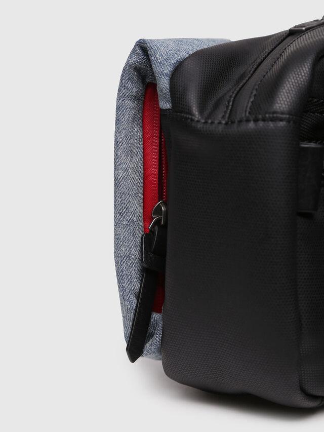 Diesel - D-SUBTORYAL SMALLCRO, Blue Jeans - Crossbody Bags - Image 3