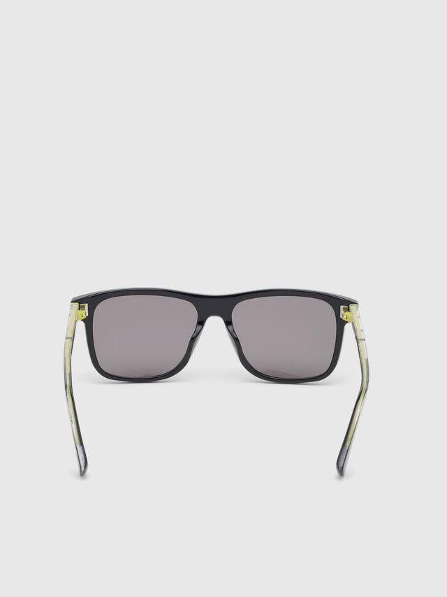 Diesel - DL0279, Black/Yellow - Eyewear - Image 4