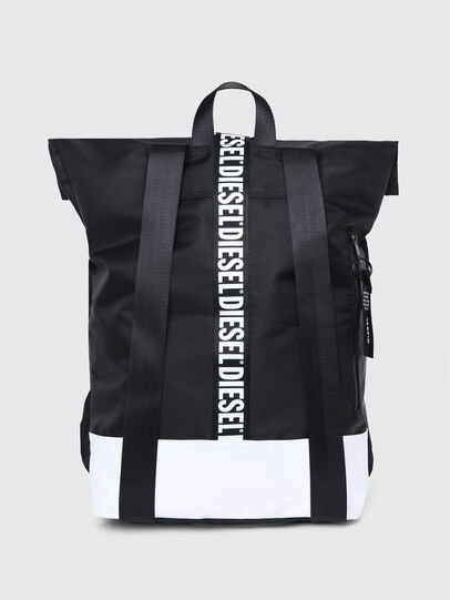 Diesel - BBAG-ZAINO, Black/White - Beachwear accessories - Image 2