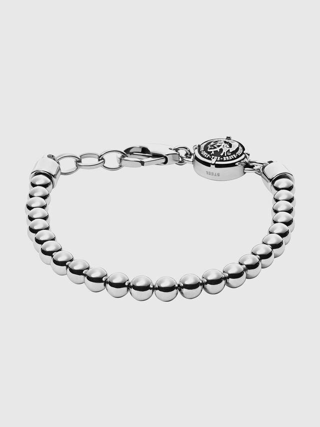 Diesel - DX0930, Metal Grey - Bracelets - Image 1