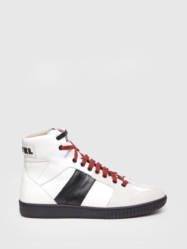 Diesel - S-MILLENIUM MC, White/Black - Sneakers - Image 1