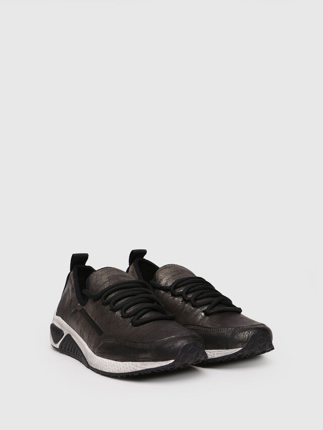 Diesel - S-KBY, Gold/Black - Sneakers - Image 3