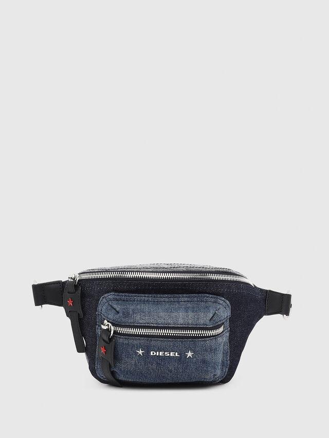 Diesel - F-DESTAR BELTBAG, Blue Jeans - Belt bags - Image 1
