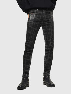 D-Reeft JoggJeans 0094M, Black/Dark grey - Jeans