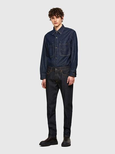 Diesel - D-Fining 009HF, Dark Blue - Jeans - Image 5