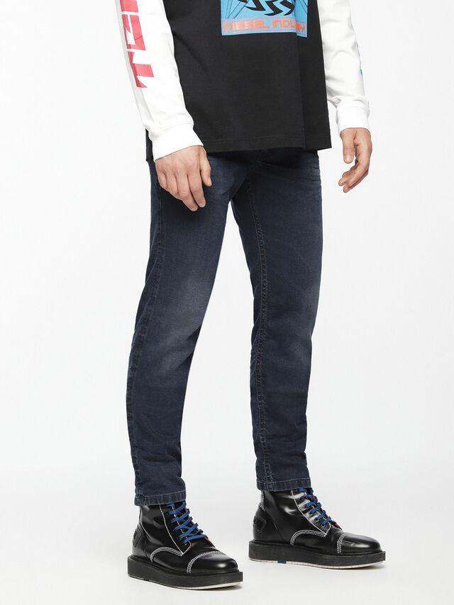 Diesel - Thommer JoggJeans 069AG, Dark Blue - Jeans - Image 3