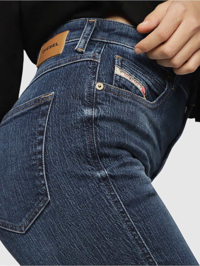 Diesel - Babhila High 089AH, Dark Blue - Jeans - Image 3