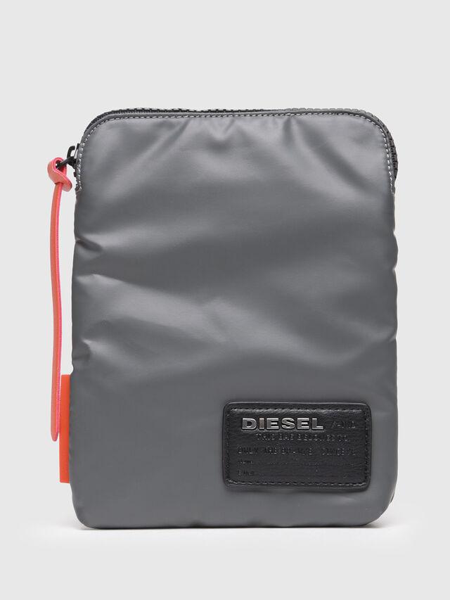 Diesel - F-DISCOVER SMALLCROS, Grey - Crossbody Bags - Image 1