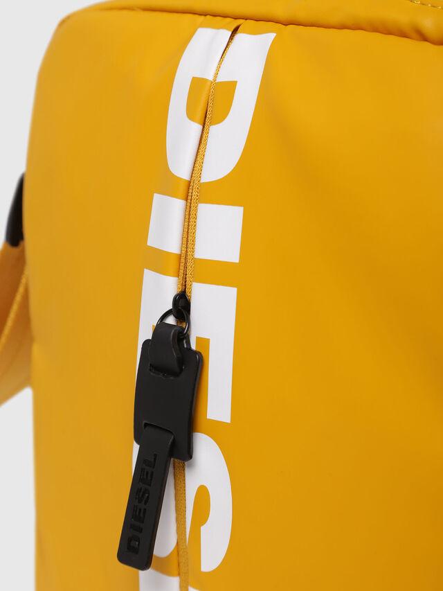 Diesel - F-BOLD SMALL CROSS, Honey - Crossbody Bags - Image 3