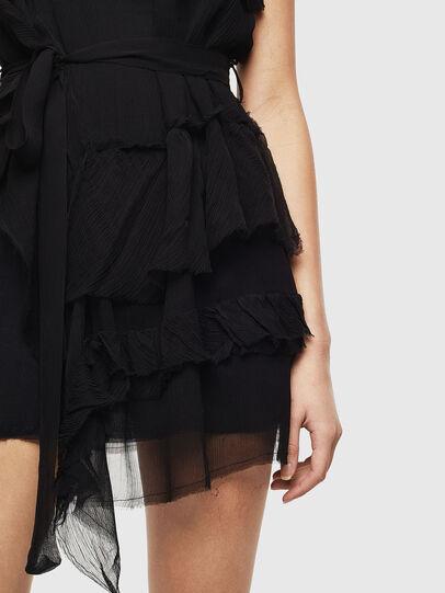 Diesel - D-GIULY, Black - Dresses - Image 4