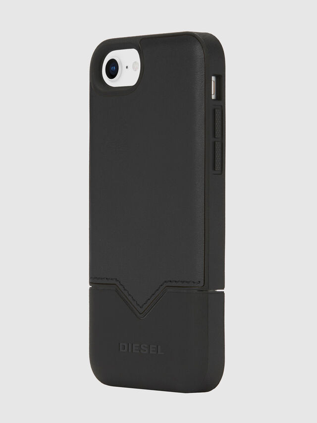 Diesel - CREDIT CARD IPHONE 8/7/6S/6 CASE, Black - Cases - Image 1