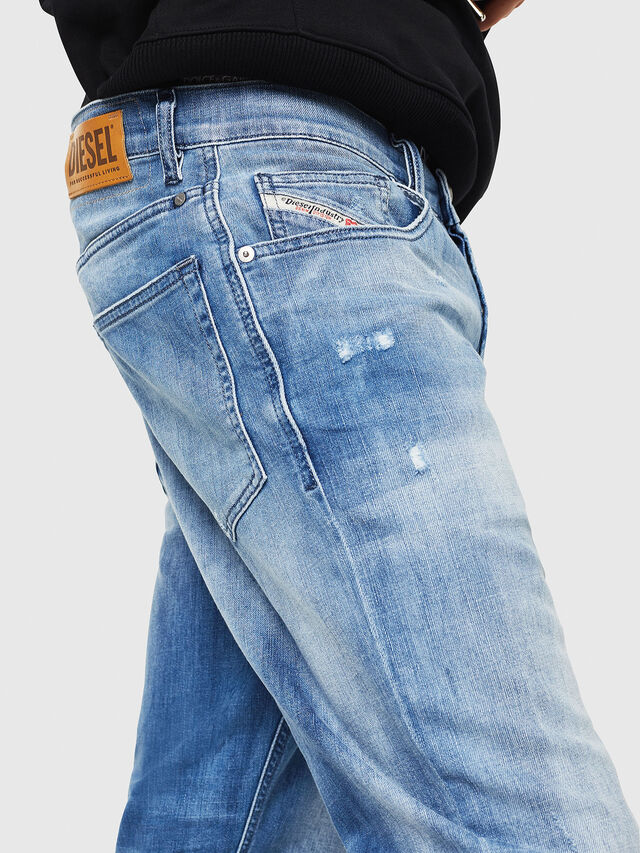 Diesel - D-Eetar 081AS, Medium blue - Jeans - Image 4