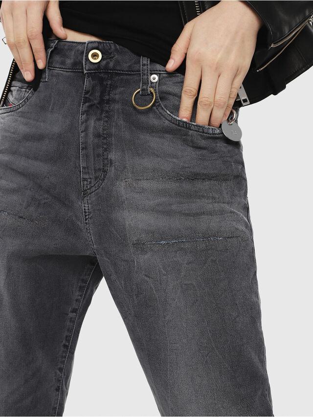 Diesel - Candys JoggJeans 069EP, Black/Dark grey - Jeans - Image 3