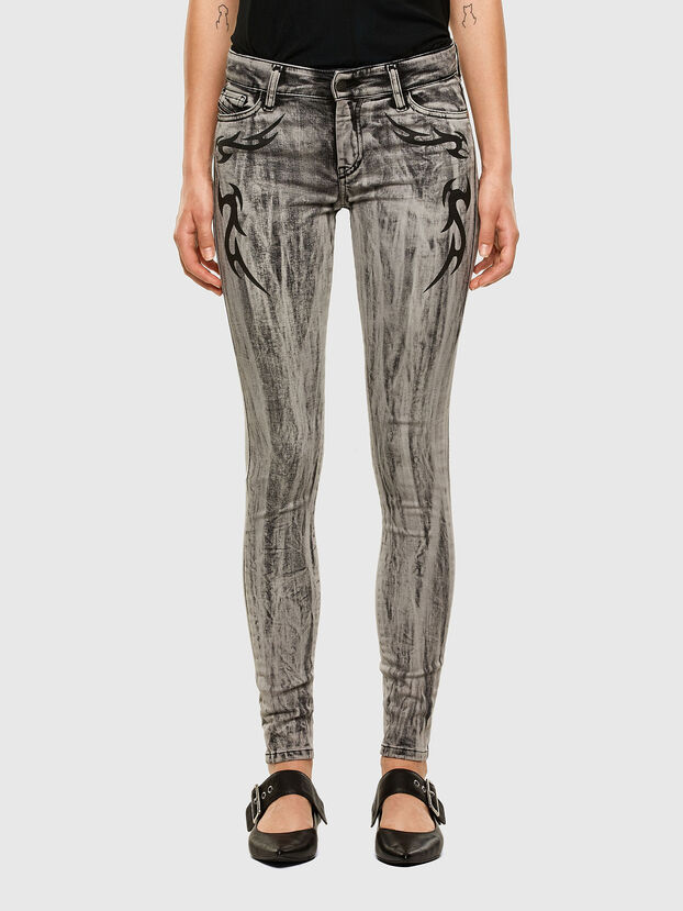 Slandy 069NH, Light Grey - Jeans