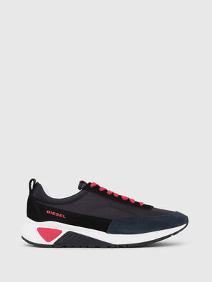 S-KB LOW LACE, Black/Red - Sneakers