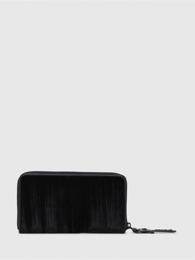 Diesel - GRANATO, Black - Zip-Round Wallets - Image 2