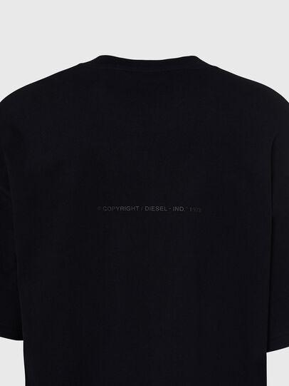 Diesel - T-BALL-X1, Black - T-Shirts - Image 4