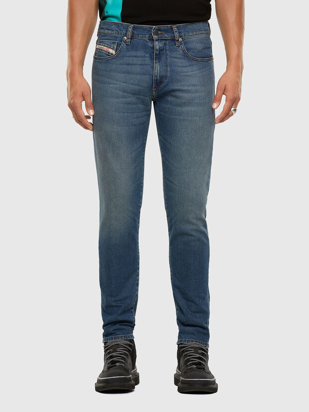 D-Strukt 009EI, Medium blue - Jeans