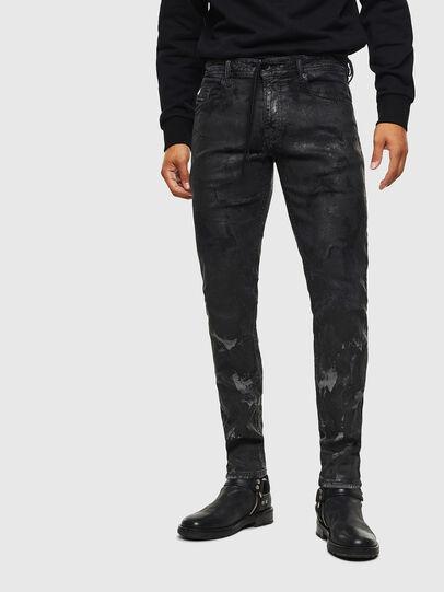 Diesel - Thommer JoggJeans 084AI, Black/Dark grey - Jeans - Image 1