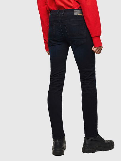 Diesel - Sleenker 0095X, Dark Blue - Jeans - Image 2