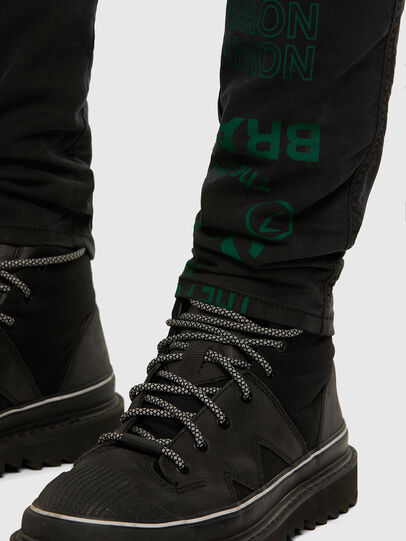 Diesel - D-Reeft JoggJeans 009HD, Black/Dark grey - Jeans - Image 8