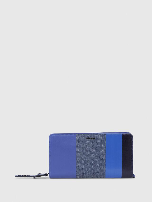 Diesel - NEW GRANATO LOOP, Blue - Zip-Round Wallets - Image 1