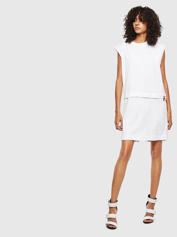 D-HATTER, White - Dresses