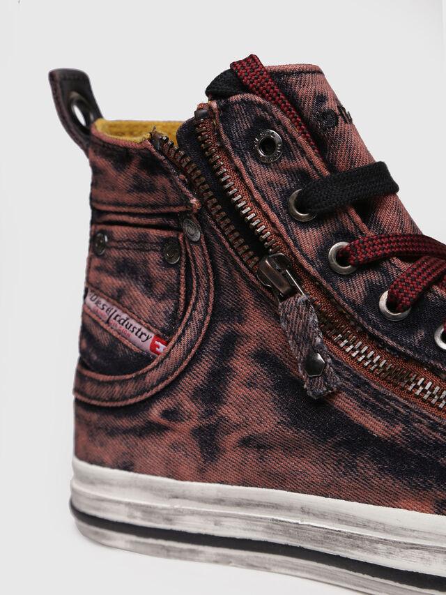 Diesel - EXPO-ZIP W, Burgundy - Sneakers - Image 4