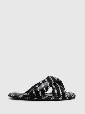 SA-MERY X, Black/White - Slippers