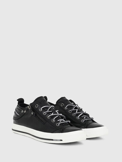 Diesel - EXPO-ZIP LOW W, Black - Sneakers - Image 2