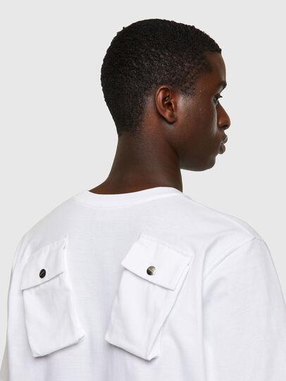 Diesel - T-JUSPOCK, White - T-Shirts - Image 3