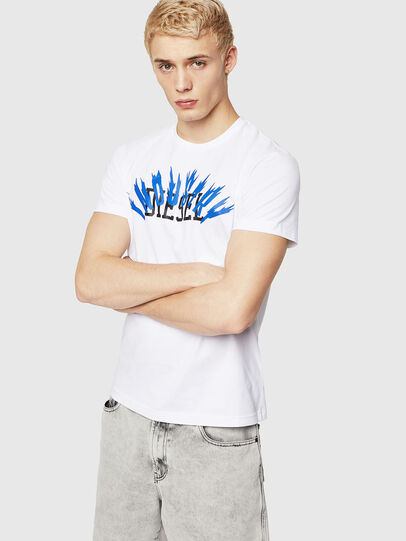 Diesel - T-DIEGO-A10, White - T-Shirts - Image 1