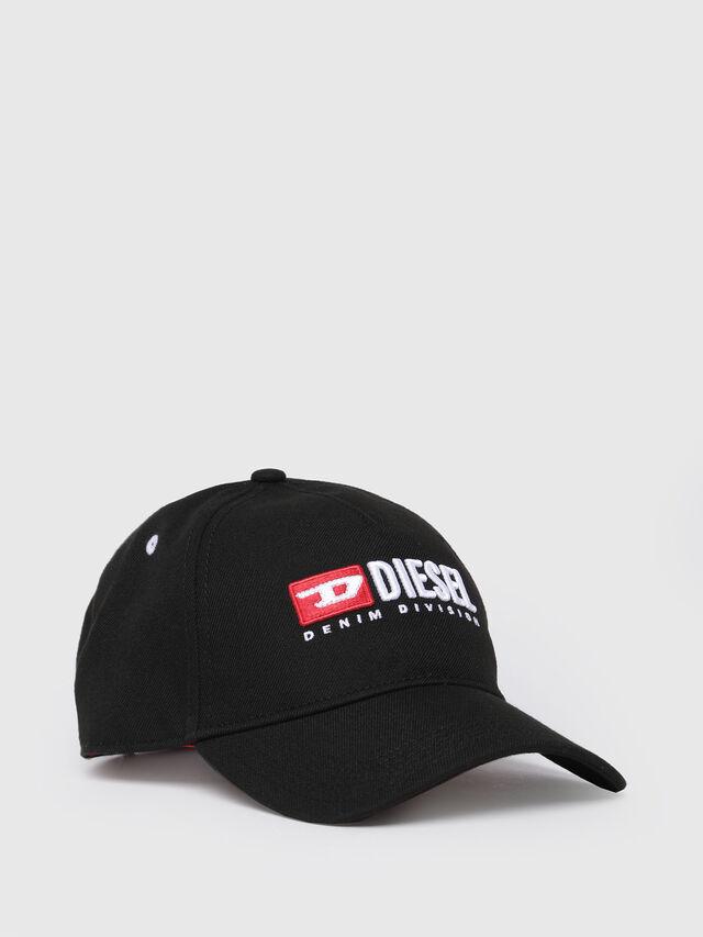 Diesel - CAKERYM-MAX, Black - Caps, Hats and Gloves - Image 1
