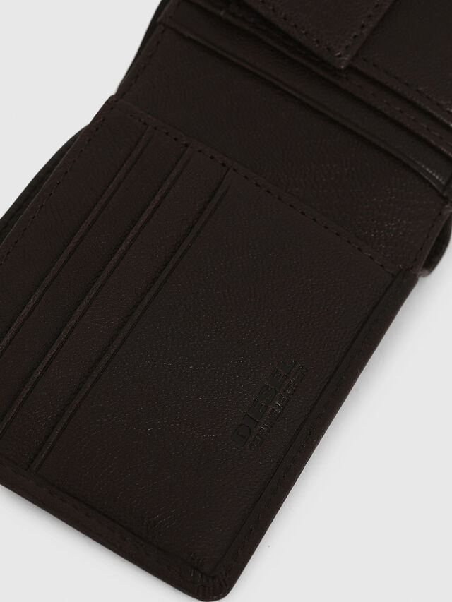 Diesel - HIRESH S, Brown - Small Wallets - Image 4