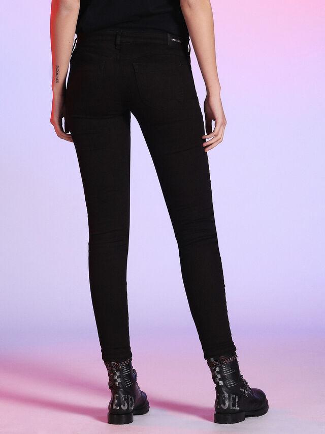 LU-GRACEY 084TR, Black Jeans