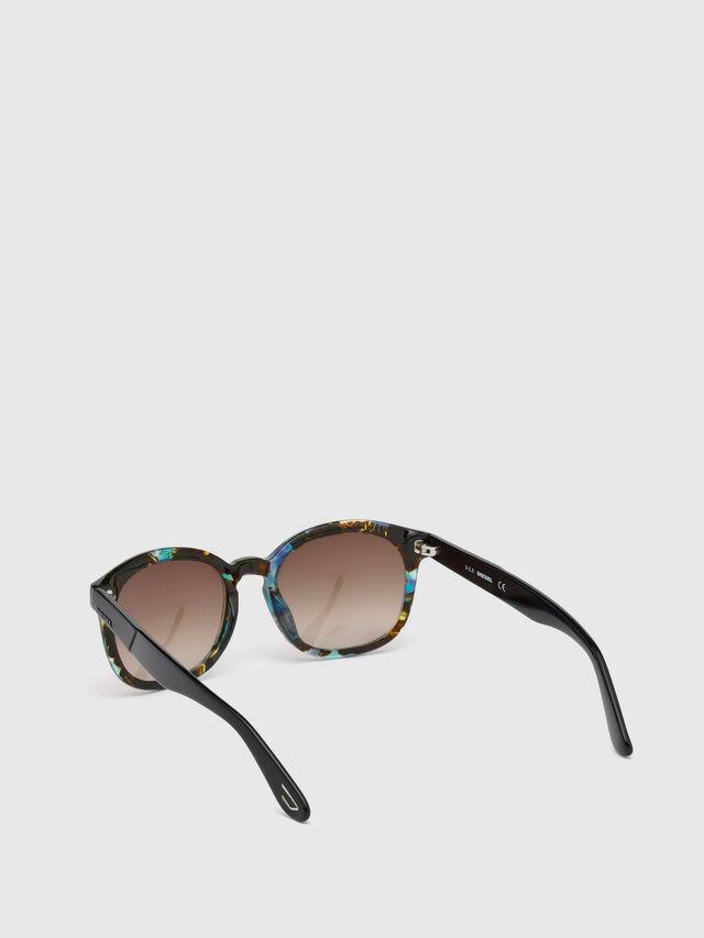 Diesel - DM0190, Blue/Black - Eyewear - Image 2