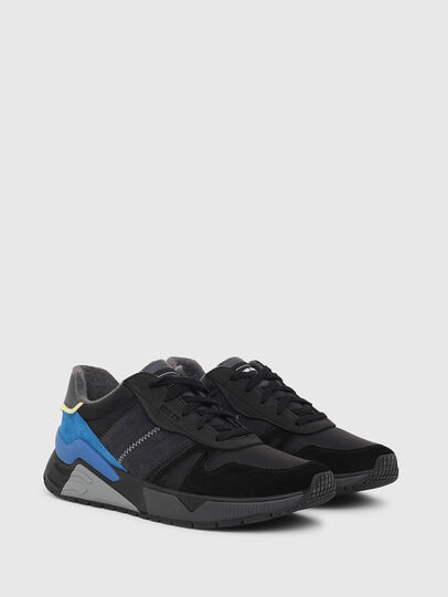 Diesel - S-BRENTHA FLOW, Black/Blue - Sneakers - Image 2