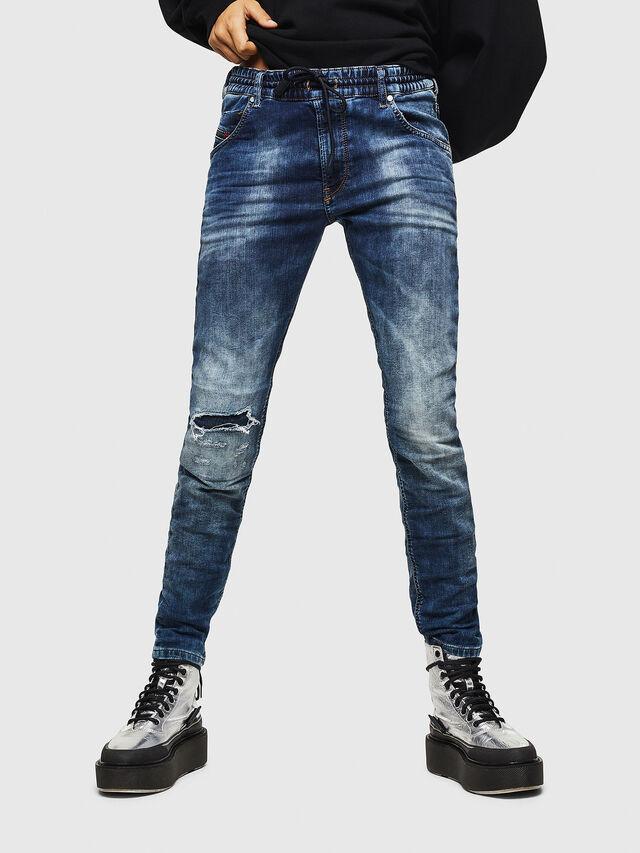 Diesel - Krailey JoggJeans 069AA, Medium blue - Jeans - Image 1